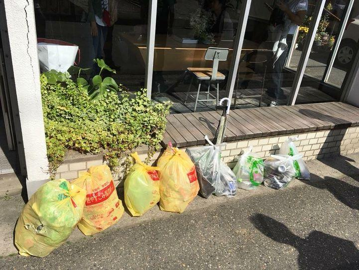 The Coffee Table主催の「Clean up in Niigata #1 」に協力しました。画像