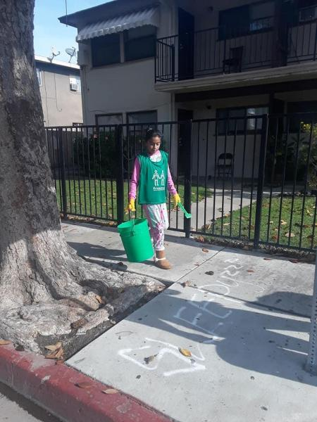 Green Bird Cleanup at Sycamore & Vine Neighborhood画像